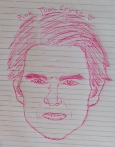 Hello, I am Pink Tom Cruise.